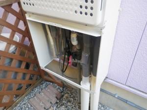 給湯器取替工事 施工事例 豊橋市 ドレン排水工事