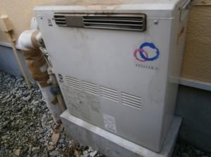 ガス給湯器 交換工事 施工事例 岡崎市 施工前