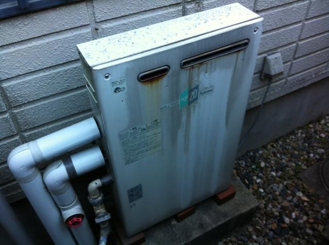名古屋市瑞穂区 給湯器交換工事 施工前