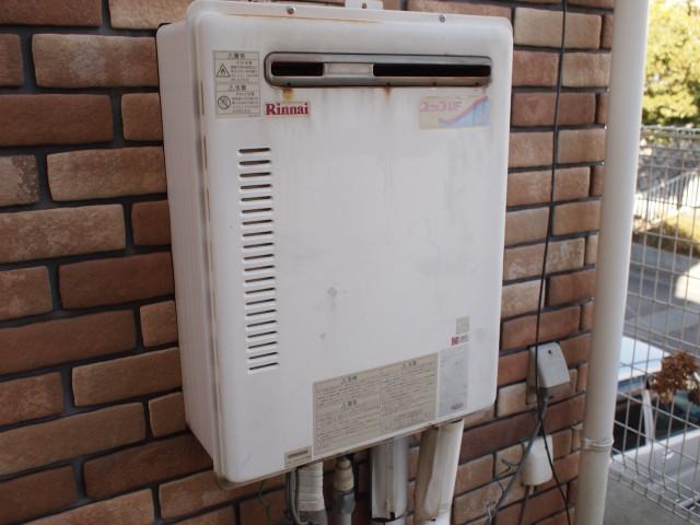 多治見市 ガスふろ給湯器 交換工事 施工前