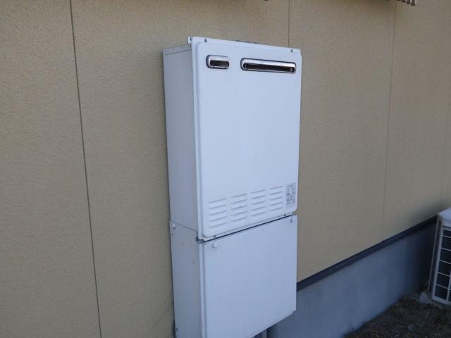 四日市市 ガスふろ給湯器交換工事 施工事例