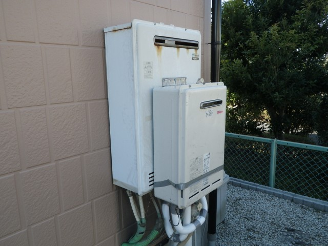 みよし市 熱源機取替工事 仮設置