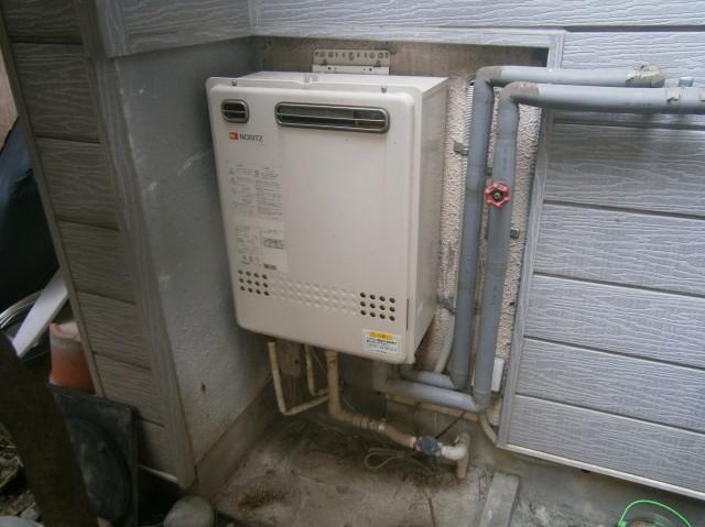 名古屋市西区 給湯器取替交換工事 施工前