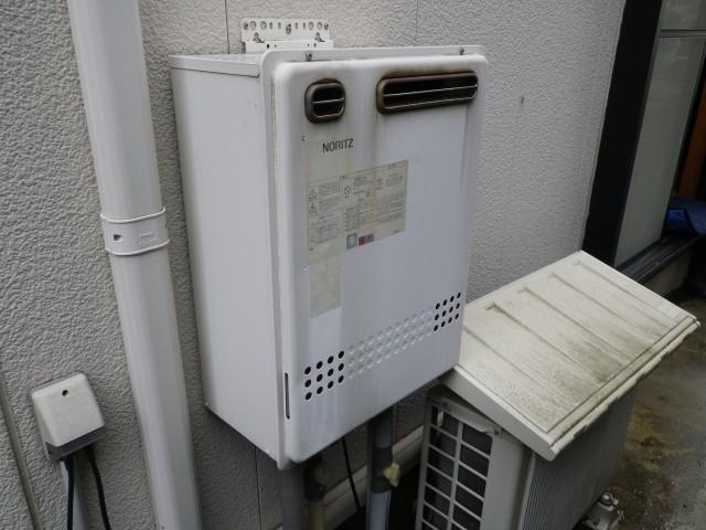 名古屋市千種区 ガスふろ給湯器取替工事 施工前