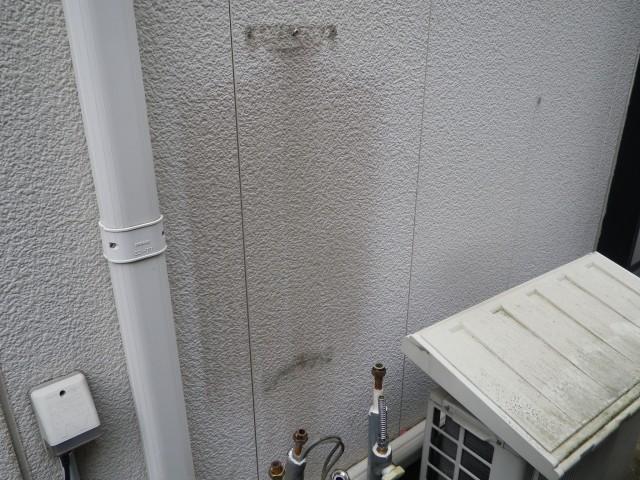 名古屋市千種区 ガスふろ給湯器取替工事 撤去後