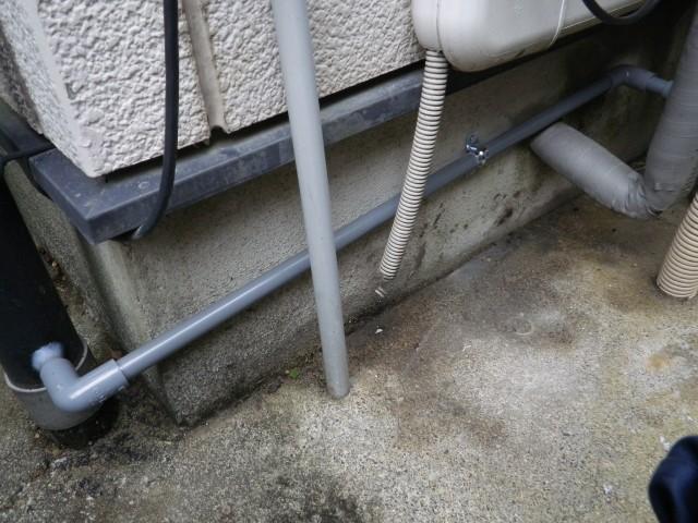 名古屋市千種区 ガスふろ給湯器取替工事 施工中
