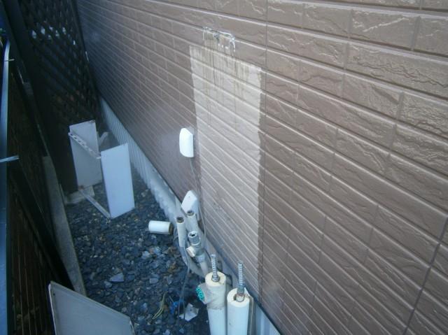 日進市 ガス給湯器取替工事 撤去後