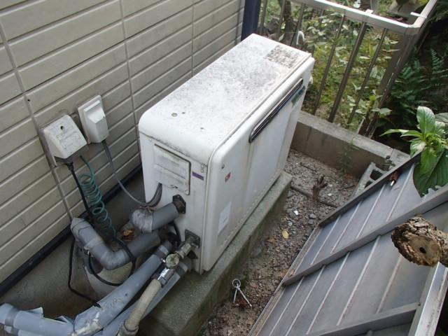 エコジョーズ ガスふろ給湯器取替工事(名古屋市昭和区)施工前