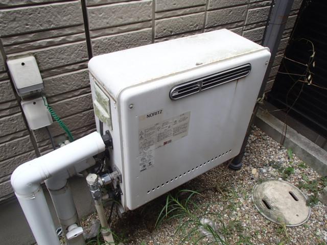 エコジョーズ ガスふろ給湯器取替工事(名古屋市瑞穂区)施工前
